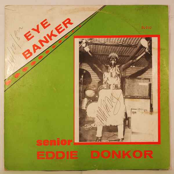 EDDIE DONKOR - Eye banker - LP