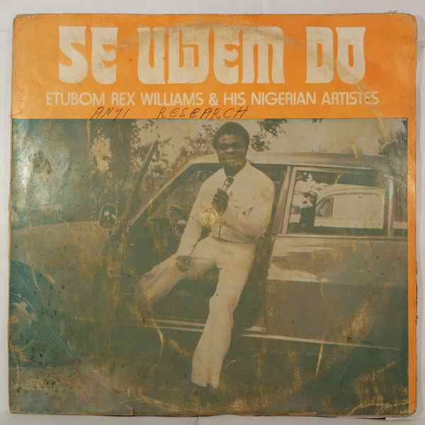 ETUBOM REX WILLIAMS - Se uwem do - LP