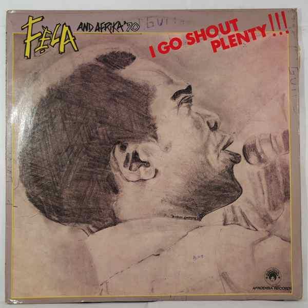 FELA KUTI - I go shout plenty - LP