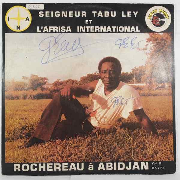 SEIGNEUR TABU LEY ROCHEREAU ET L'AFRISA INTERNATIO - A Abidjan Vol. 2 - LP