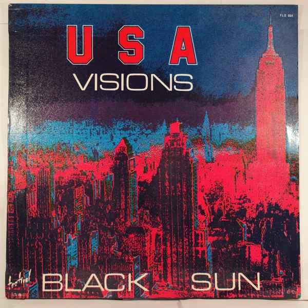 BLACK SUN - U.S.A. Vision - LP