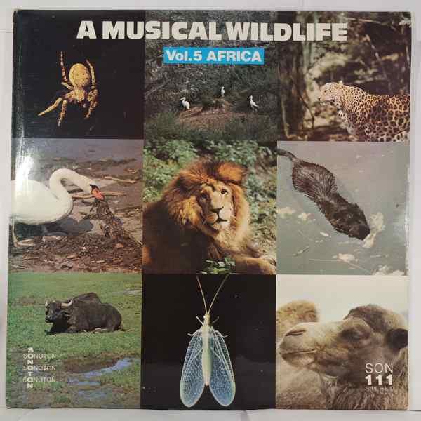 CLAUDE LARSON - A musical wildlife Vol.5 Africa - LP