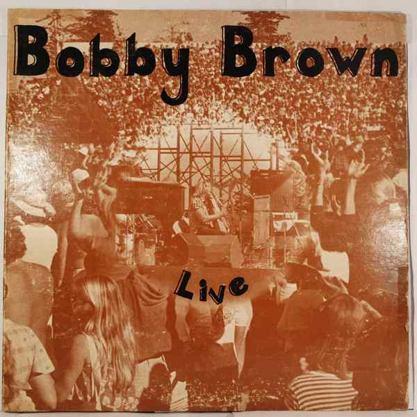 BOBBY BROWN - Live - LP