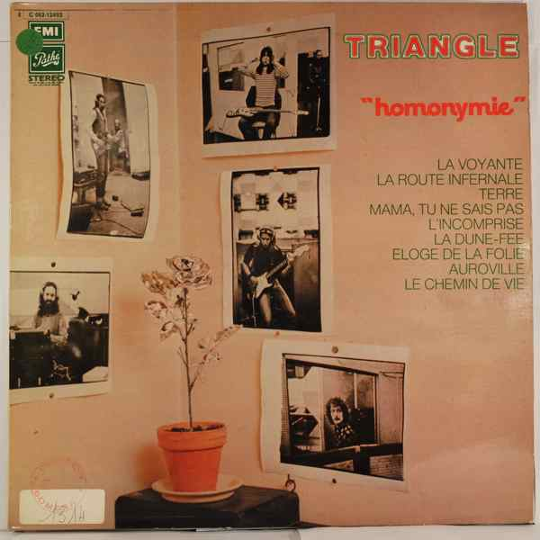 TRIANGLE - Homonymie - LP