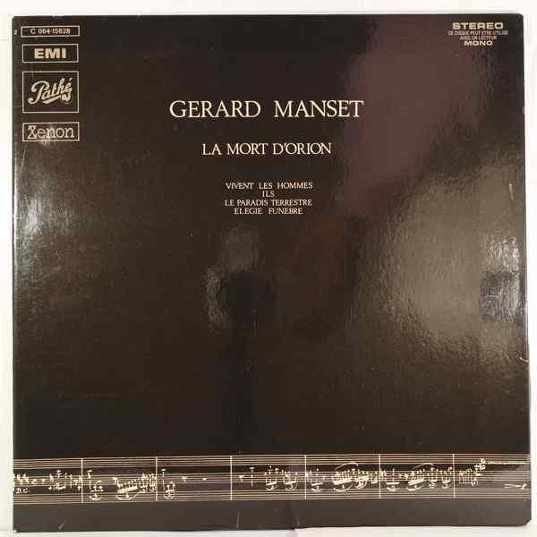 Gerard Manset La Mort d'Orion