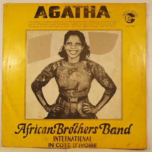 AFRICAN BROTHERS BAND INTERNATIONAL - Agatha - LP
