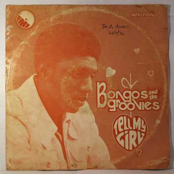 BONGOS IKWUE & THE GROOVIES - Tell my girl - LP