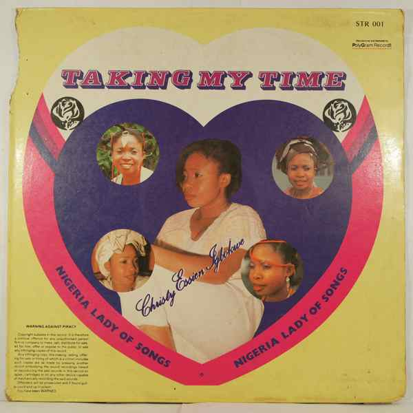 CHRISTY ESSIEN - Taking my time - LP