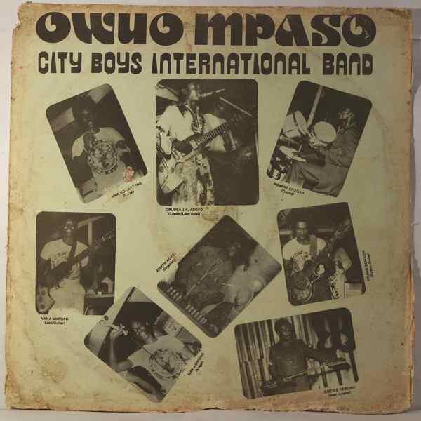 City Boys International Band Owuo mpaso