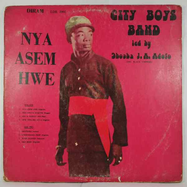 CITY BOYS BAND - Nya asem hwe - LP