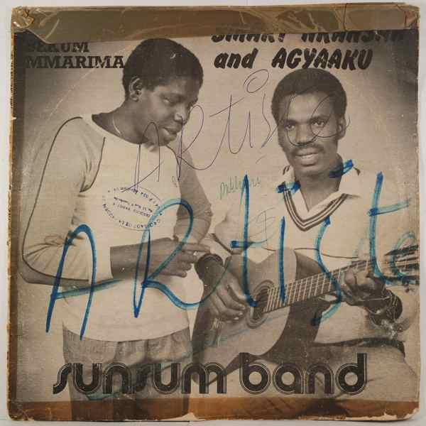 SMART NKANSAH'S & SUNSUM MYSTIC - Emmaa bekum Mmarima - LP