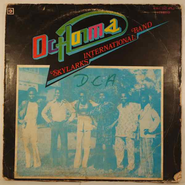 THE SKYLARKS INTERNATIONAL BAND - Ochonma - LP