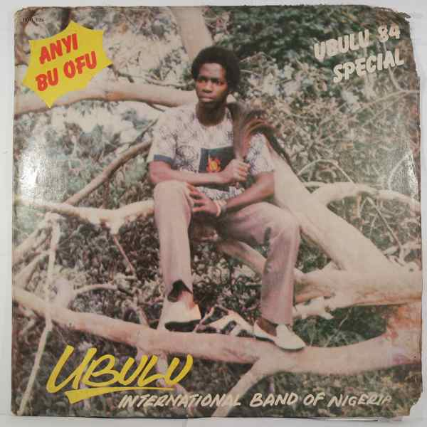 UBULU INTERNATIONAL BAND - Ubulu 84 special - LP