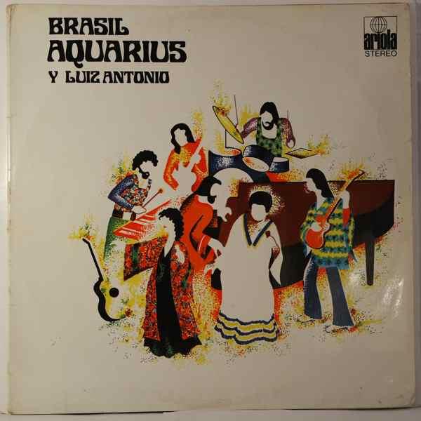 BRASIL AQUARIUS - Y Luiz Antonio - LP