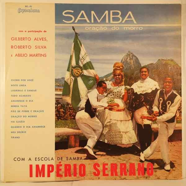 ESCOLA DE SAMBA IMPERIO SERRANO - Samba oracao do morro - LP