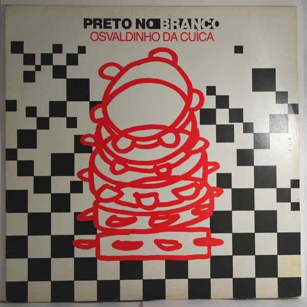 OSVALDINHO DA CUICA - Preto no branco - LP