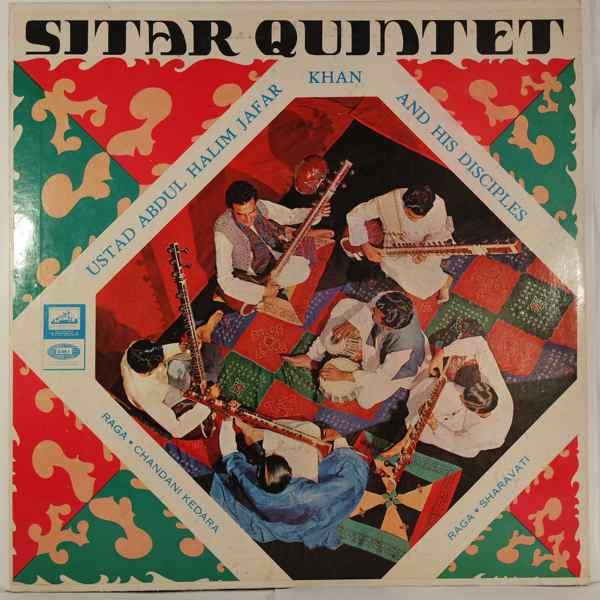 ABDUL HALIM JAFFAR KHAN - Sitar Quintet - LP