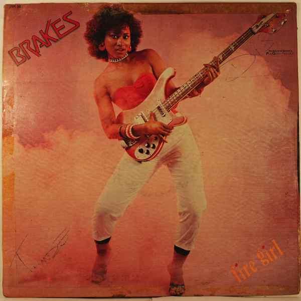 BRAKES - Fire girl - LP