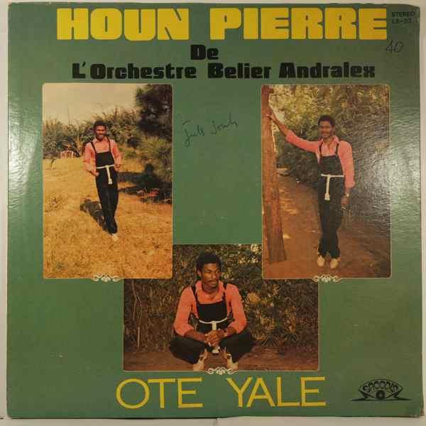HOUN PIERRE DE L'ORCHESTRE BELIER ANDRALEX - Ote yale - LP
