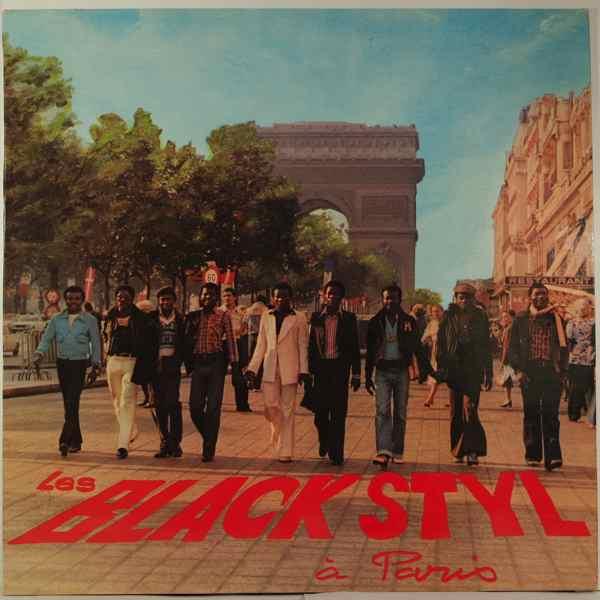 LES BLACK STYL - A Paris - LP
