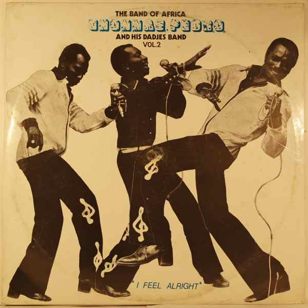 GNONNAS PEDRO - I feel alright - LP