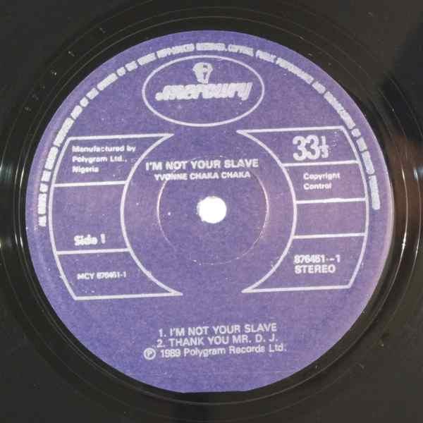 YVONNE CHAKA CHAKA - Thank you Mr DJ - 12 inch 45 rpm