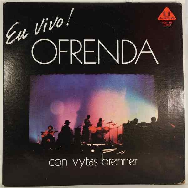 OFRENDA CON VYTAS BRENNER - En Vivo! - LP x 2