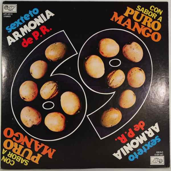 SEXTETO ARMONIA DE PUERTO RICO - Con sabor a puro mango - LP