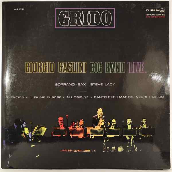 Giorgio Gaslini Big Band Grido