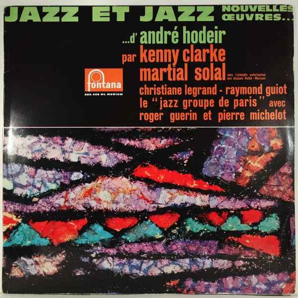 Andre Hodeir Jazz Et Jazz