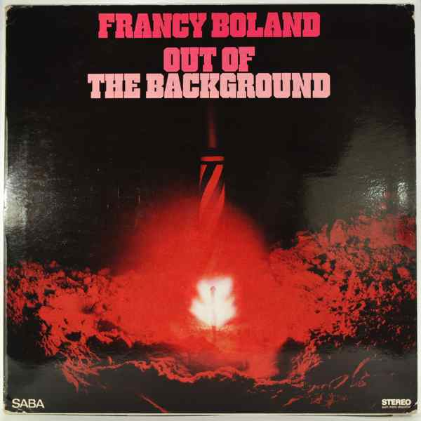FRANCY BOLAND - Out Of The Background - LP