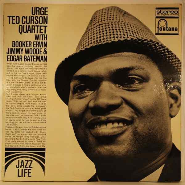 TED CURSON QUARTET - Urge - LP