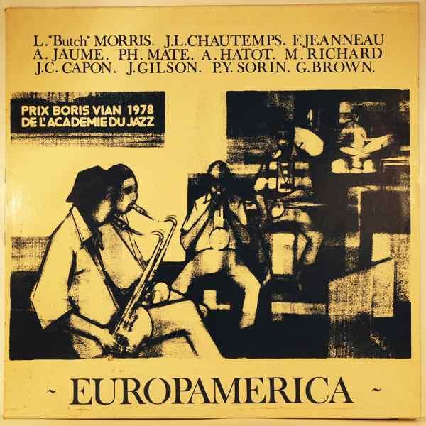 JEF GILSON - Europamerica - LP