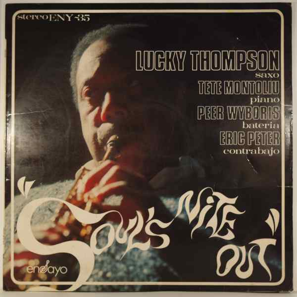 LUCKY THOMPSON - Soul's Nite Out - LP