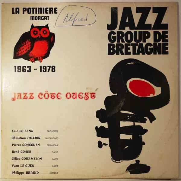JAZZ GROUP DE BRETAGNE - Jazz Cote Ouest - LP