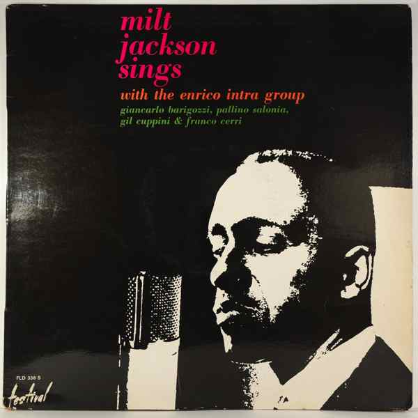 MILT JACKSON - Sings With The Enrico Intra Group - LP