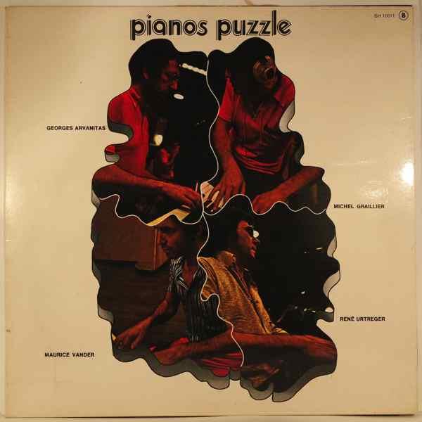 GEORGES ARVANITAS MICHEL GRAILLIER MAURICE VANDER  - Pianos Puzzle - LP