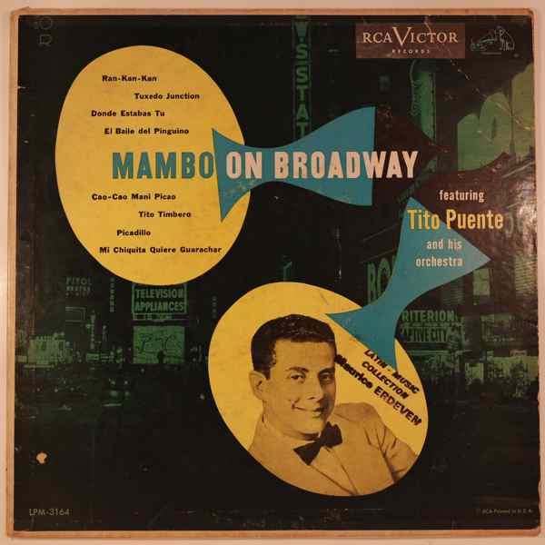 TITO PUENTE - Mambo on Broadway - 10 inch