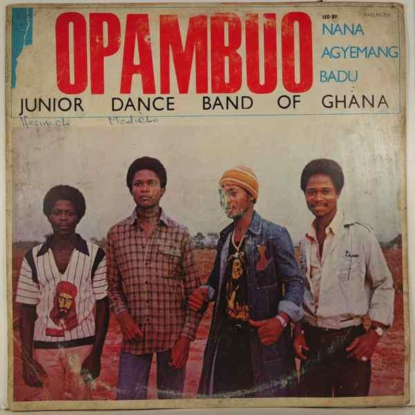 OPAMBUO JUNIOR DANCE BAND OF GHANA - Same - LP
