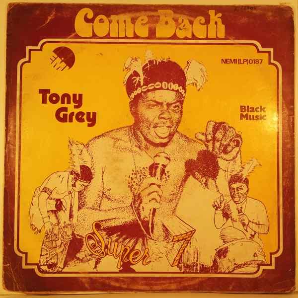 TONY GREY - Come back - LP