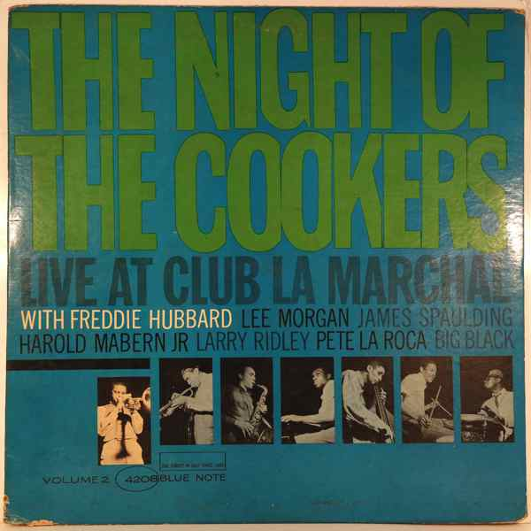 Freddie Hubbard The Night Of The Cookers Volume 2