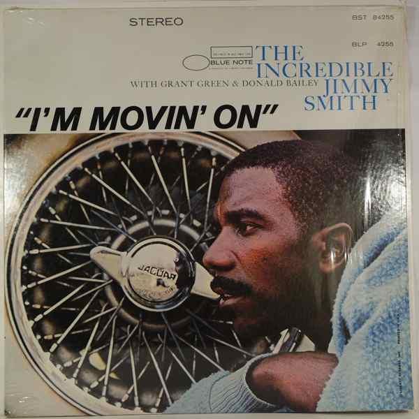 JIMMY SMITH - I'm Movin' On - LP
