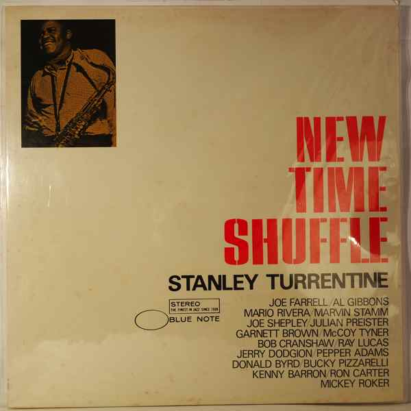 STANLEY TURRENTINE - New Time Shuffle - LP