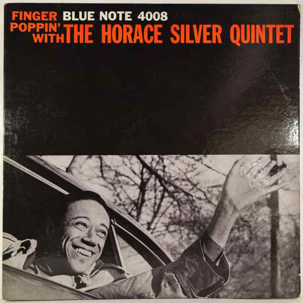 THE HORACE SILVER QUINTET - Finger Poppin' With The Horace Silver Quintet - LP