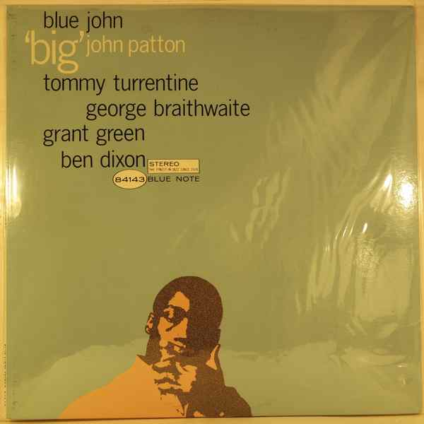 JOHN PATTON - Blue John - LP