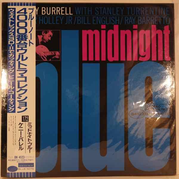KENNY BURRELL - Midnight Blue - LP