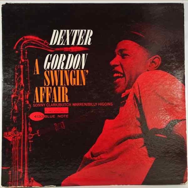 DEXTER GORDON - A Swingin' Affair - LP