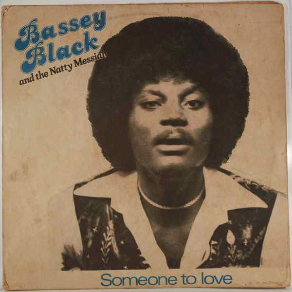 BASSEY BLACK - Someone to love - LP