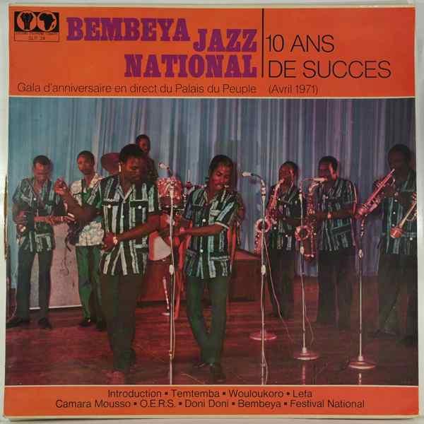 BEMBEYA JAZZ NATIONAL - 10 ans de succËs - LP
