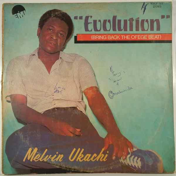 MELVIN UKACHI - Evolution - LP